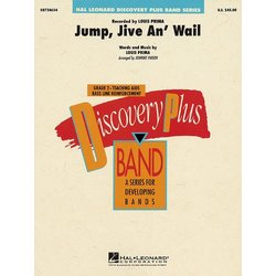 Jump, Jive an' Wail - Score & Parts, Grade 2