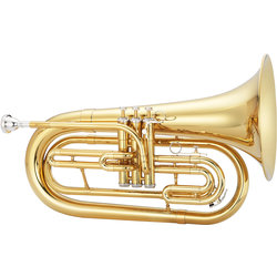 Jupiter JBR1000M 1000 Series Marching Baritone - Brass, with Case
