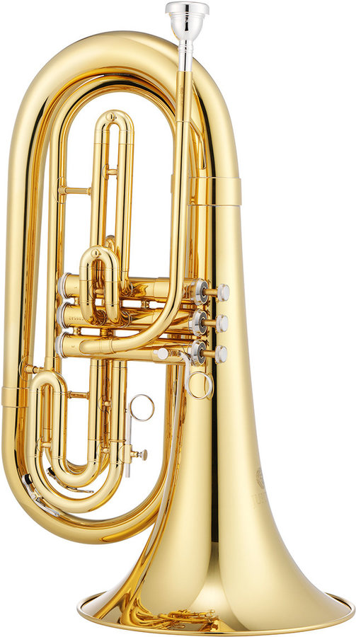 View larger image of Jupiter JBR1000M 1000 Series Marching Baritone - Brass, with Case
