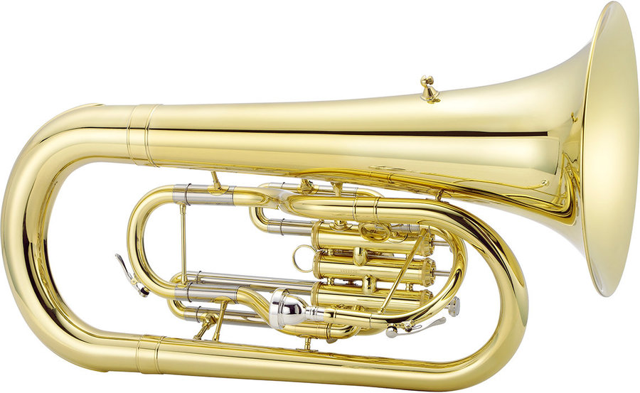 View larger image of Jupiter JEP1000M 1000 Series Marching Euphonium - Brass, with Case