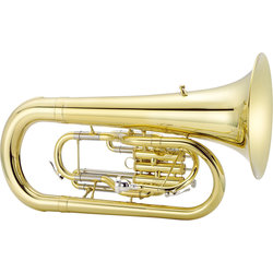 Jupiter JEP1000M 1000 Series Marching Euphonium - Brass, with Case