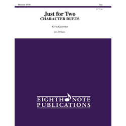 Just for 2 - Charachter Duets - Flute Duet