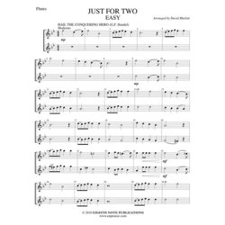 Just For Two - Easy - (Flute Duet)