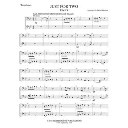 Just for Two Easy - (Trombone Duet)