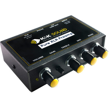 View larger image of K&K Pure XLR Preamp