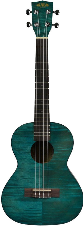 View larger image of Kala Exotic Mahogany Tenor Ukulele - Blue