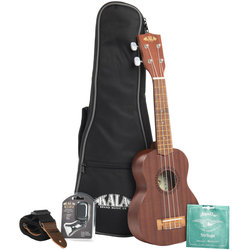 Kala KA-15 Series Tenor Ukulele Bundle