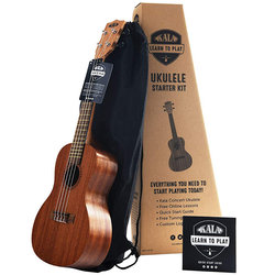 Kala Learn To Play Concert Ukulele Starter Kit