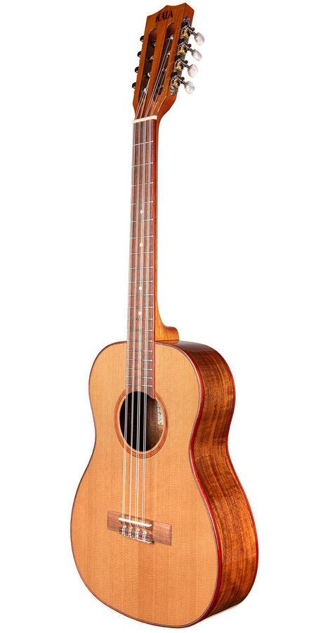 View larger image of Kala Solid Cedar Acacia 8-String Baritone Ukulele