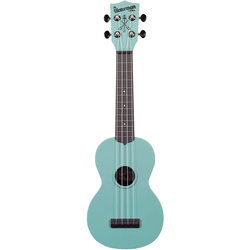 Kala Waterman Soprano Ukulele - Glow-in-the-Dark Aqua