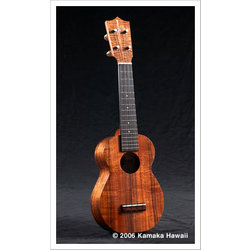 Kamaka HF-1L Long Neck Soprano Ukulele with Case