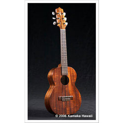 Kamaka HF-36L 6-String Long Neck Tenor Ukulele with Case