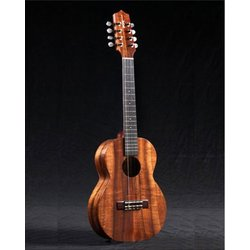 Kamaka HF-38 8-String Tenor Ukulele with case