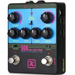 Keeley DDR Drive-Delay-Reverb Pedal - 80s Edition
