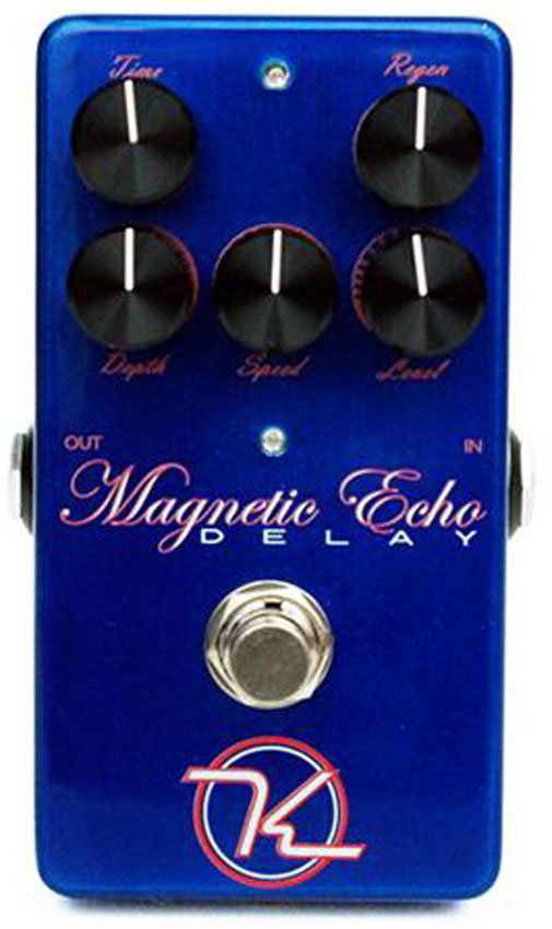 View larger image of Keeley Magnetic Echo Pedal