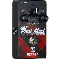 Keeley Super Phat Mod Overdrive Canadian Limited Edition Pedal