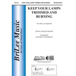 Keep Your Lamps Trimmed And Burning, 2PT Parts