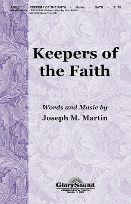 View larger image of Keepers of the Faith, SATB Parts