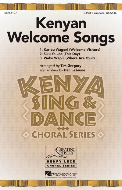View larger image of Kenyan Welcome Songs, 2PT/Solo A Cappella Parts