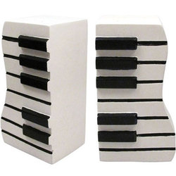 Keyboard Bookends