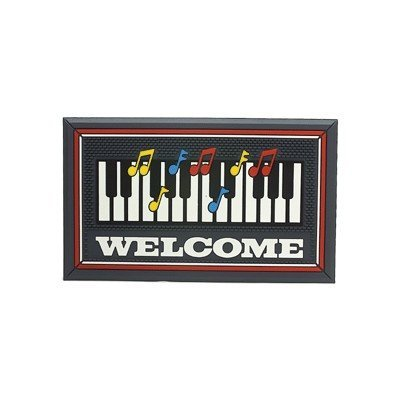 View larger image of Keyboard Doormat - Gray