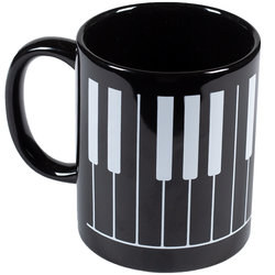 Keyboard Mug - Black