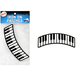 Keyboard Patch - Curved - 4x1-1/2