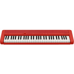 Casio CT-S1 61-Key Portable Keyboard - Red