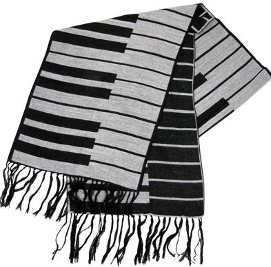 View larger image of Keyboard Scarf - Cashmere-Like