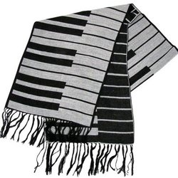 Keyboard Scarf - Cashmere-Like
