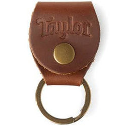 Taylor Leather Pick Holder Key Chain - Red
