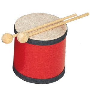 View larger image of Kidsplay RB1014X Large Tom Tom with Mallets