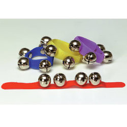 Kidsplay RB811CS Wrist Bells with Velcro - 12 Pieces