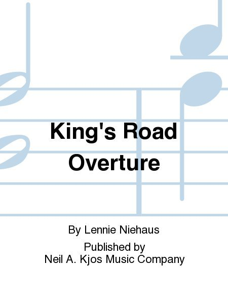 View larger image of King's Road Overture - Score & Parts, Grade 2.5