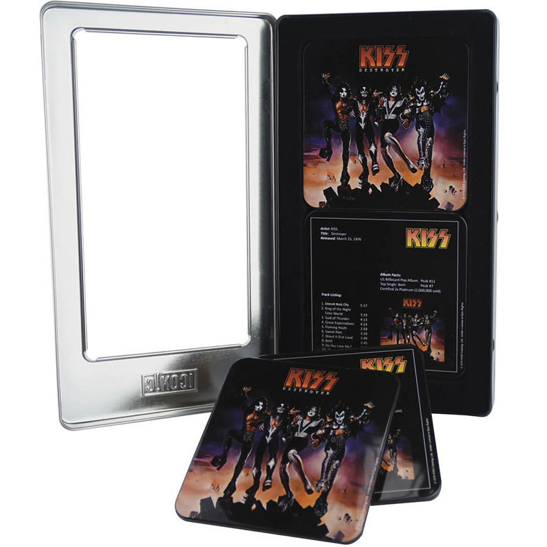 View larger image of KISS Destroyer Tin Coaster Set - 6 Pack