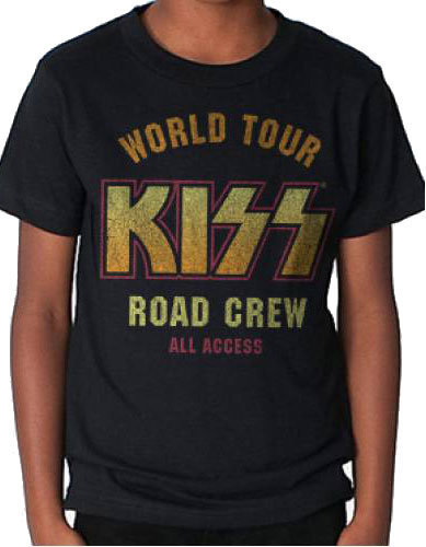 View larger image of KISS World Tour T-Shirt - Men's Small