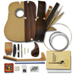 Martin 000 Short Scale Acoustic Guitar Kit - Indian Rosewood