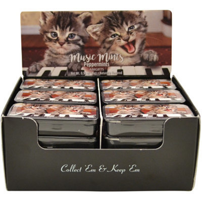 View larger image of Kittens Playing Piano Mint Tin