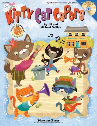 View larger image of Kitty Cat Capers - Classroom Kit Bk/CD