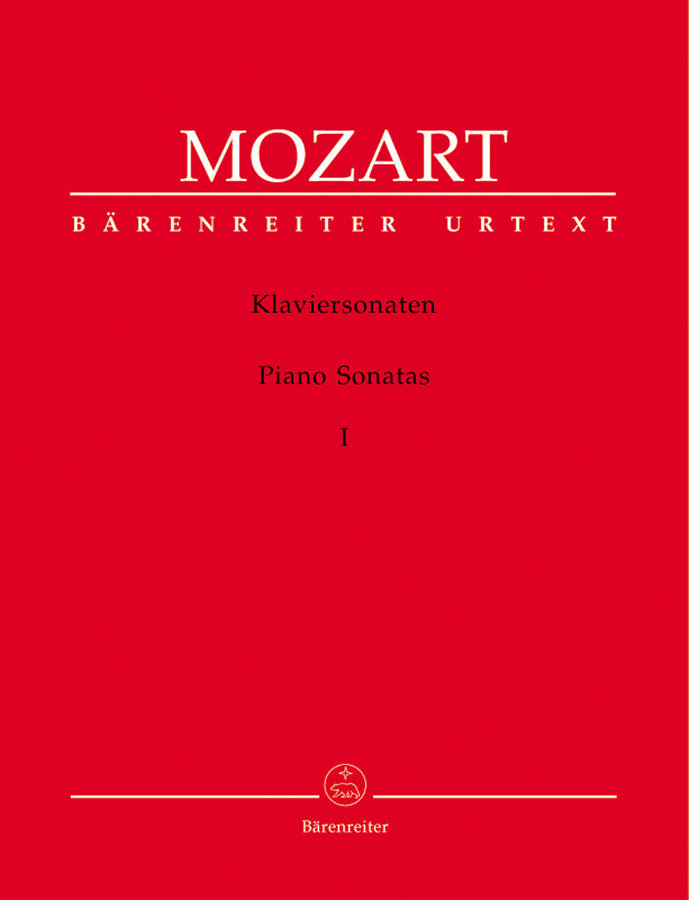 View larger image of Klaviersonaten, Band 1 - Mozart