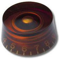 View larger image of PRS SE Speed Knob - Amber, 2 Pack