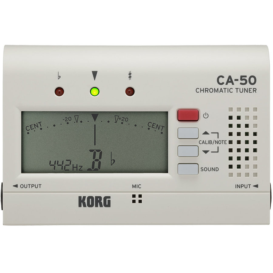 View larger image of Korg CA-50 Chromatic Tuner