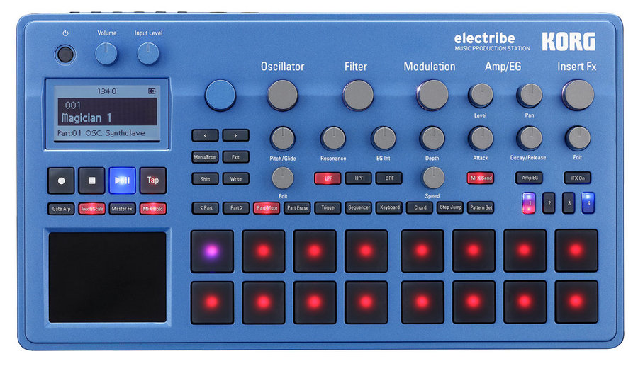 View larger image of Korg Electribe Music Production Station