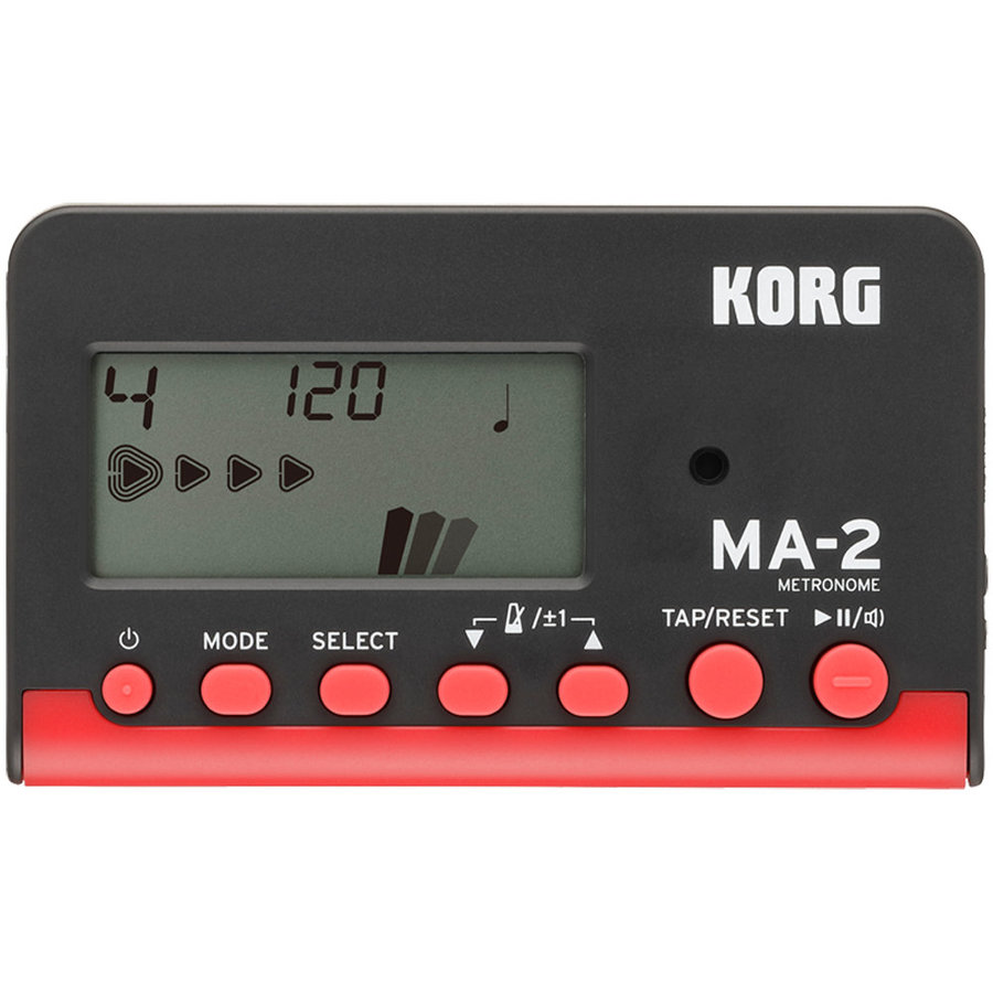 View larger image of Korg MA-2 Metronome - Black/Red