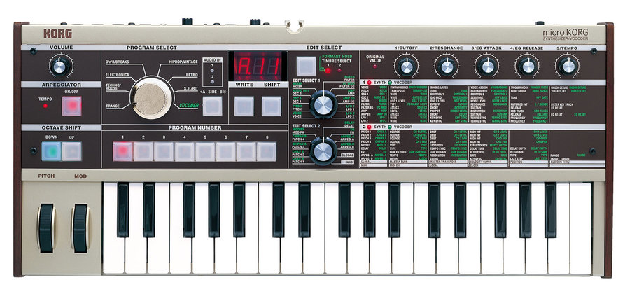 View larger image of Korg microKORG 37-Key Synthesizer with Vocoder