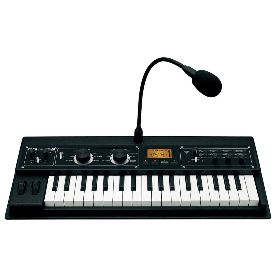 View larger image of Korg microKORG XL+ Synthesizer with Vocoder