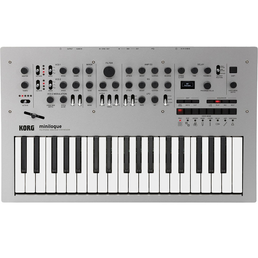 View larger image of Korg Minilogue Polyphonic Analogue Synthesizer