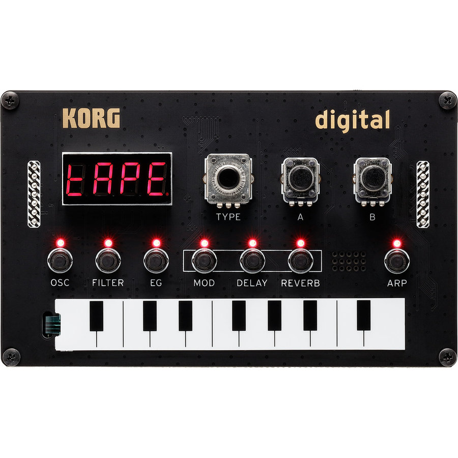 View larger image of Korg NTS-1 NuTekt DIY Programmable Synthesizer Kit