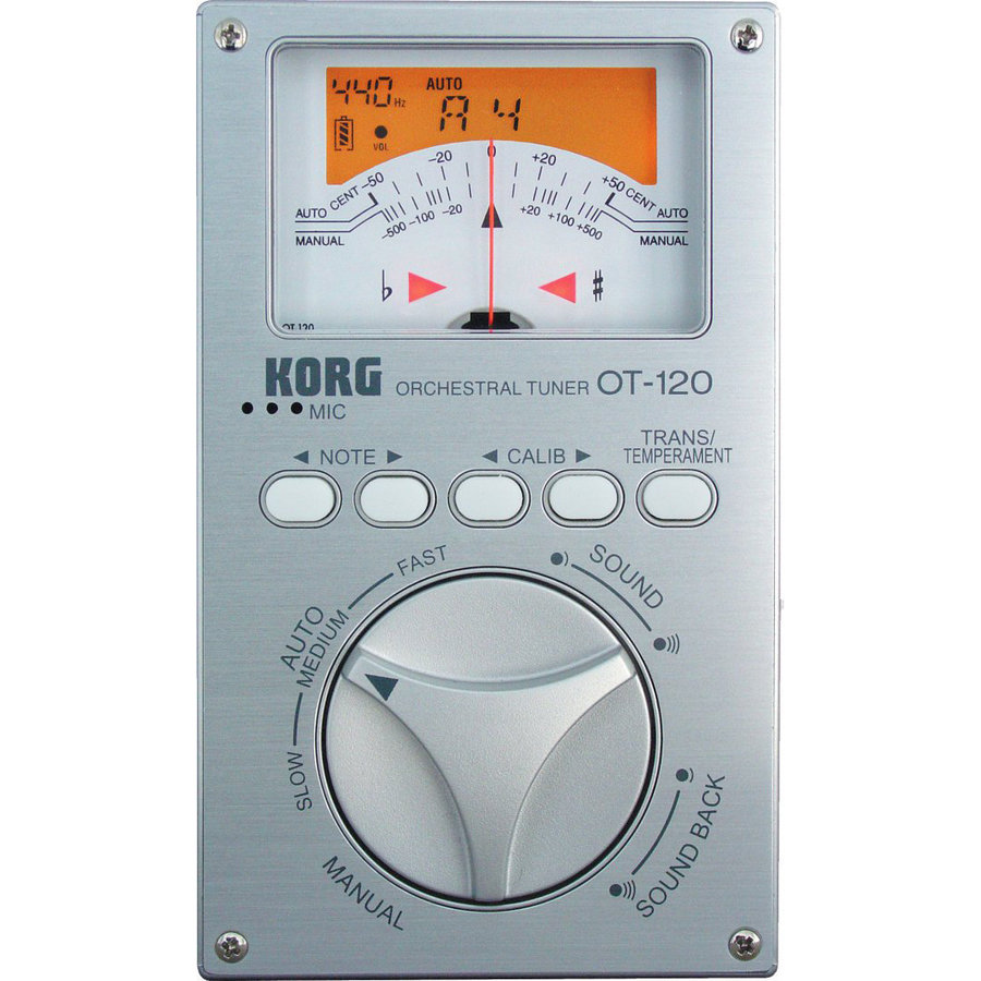 View larger image of Korg OT-120 Orchestral Tuner