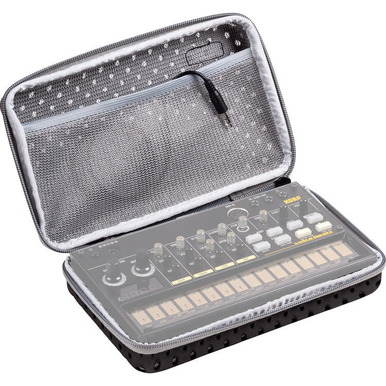 View larger image of Korg Sequenz Volca Synthesizer Case - Black/Gray